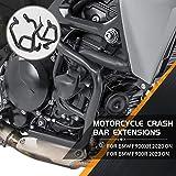 Lorababer Moto per F 900 R/XR Protezione Paraurti Motore Autostrada In Acciaio Al Carbonio Crash Bar Protezione Serbatoio Protezione Per B.M.W F900R F900XR F-900-R F-900-XR 2020 2021 (Inferiore)