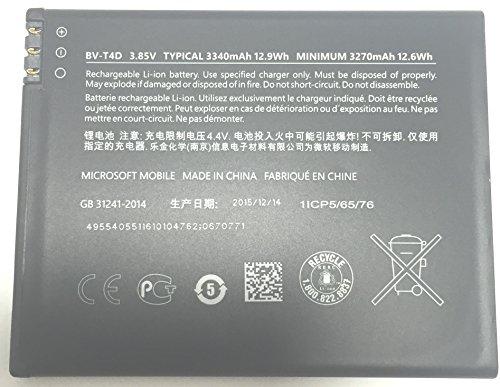 Microsoft originale bv-t4d Lumia 950XL ricaricabile 3.85V 3340mAh batteria di ricambio...
