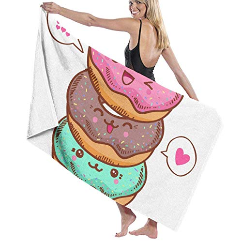 Sunyuer 31″ X 51″ High Food Doughnut Donuts Cookie Lightweight Large Bath Sheet