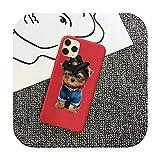 Yorkshire Terrier - Carcasa para iPhone 11 12 Mini Pro XS MAX 8 7 6 6S...