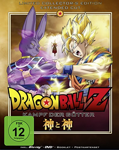 Dragonball Z - Kampf der Götter  (+ DVD) [Blu-ray] [Limited Collector's Edition]