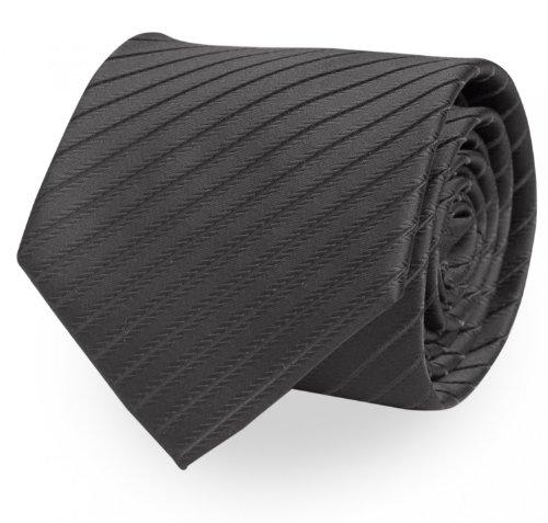 Fabio Farini - Cravates, nœuds papillons et mouchoirs attrayants et élégants pour la robe à cravate noire code noir cravate rayures noires discrètes