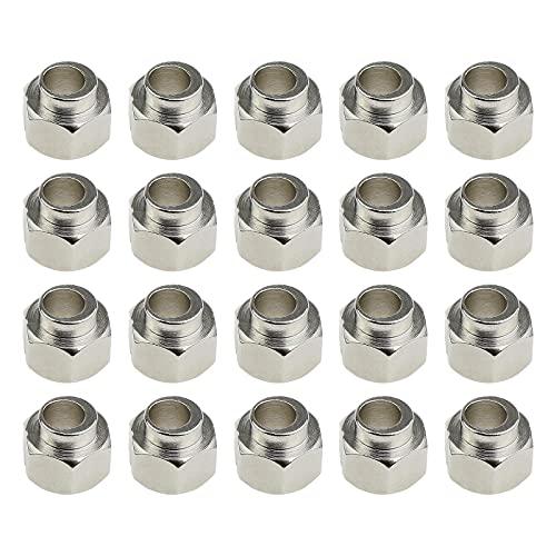 Distanziatori eccentrici per stampante 3D in acciaio al carbonio, diametro foro interno 5 mm, 20 pezzi