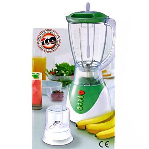 1,5 Liter Standmixer Handmixer Stabmixer Küchenmixer Mixerset Kaffeemühle Smothi