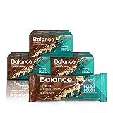 Balance Bar, Healthy Protein Snacks, Cookie Dough, With Vitamin A, Vitamin C, Vitamin D, a...