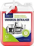 Descalcificador para cafetera concentrado liquido 5 litros - Compatible con marcas Delonghi Dolce Gusto Nespresso Seaco,...