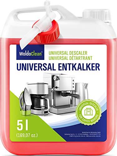 Descalcificador para cafetera concentrado liquido 5 litros - Compatible con marcas Delonghi Dolce Gusto Nespresso Seaco, Krups Senseo
