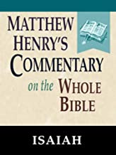 Matthew Henry's Commentary on the Whole Bible-Book of Isaiah
