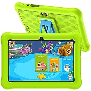 Tablet Niños con WiFi Android 10 Certificado por Google Tablet Infantil 2GB RAM 32GB ROM para Juegos Educativos.