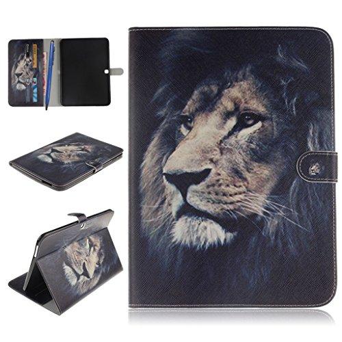 Tablet Case, Careynoce PU lederen magnetische Flip portemonnee beschermhoes Galaxy Tab 4 10.1