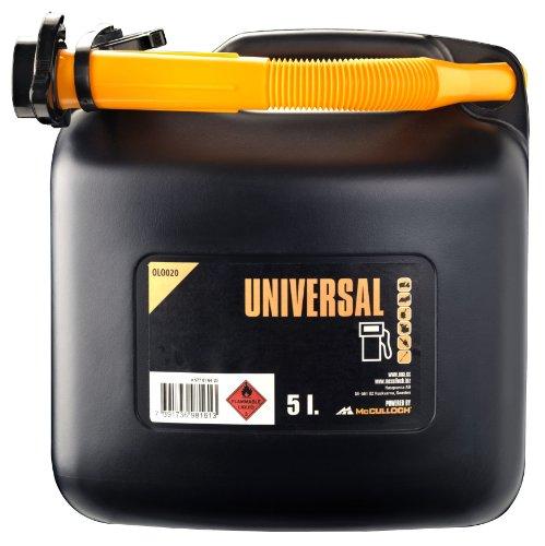 Universal Benzinkanister 5 L, OLO020: Kanister für die sichere Lagerung und den Transport von Treibstoffen (Artikel-Nr. 00057-76.164.20)