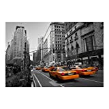 Bilderwelten Fotomural - New York New York! - Mural apaisado papel pintado fotomurales murales pared papel para pared foto 3D mural pared barato decorativo, Dimensión Alto x Ancho: 320cm x 480cm