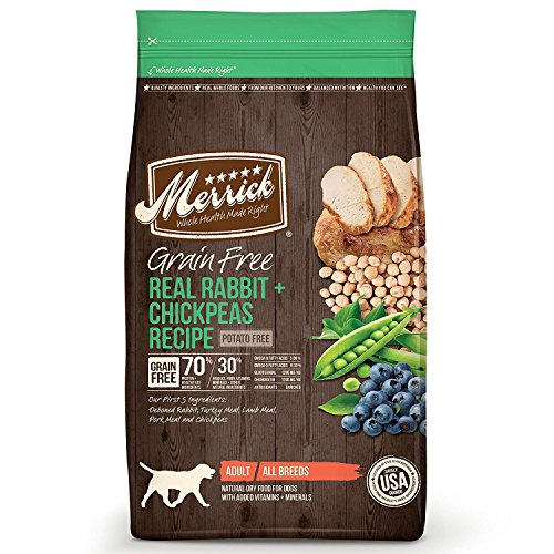 Merrick 4 LB, Grain Free Dog Food, Rabbit &...