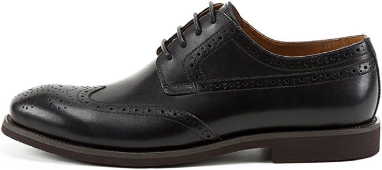 YCGCM Män läder skor Vintage Oxford skor skor skor England Broch bilved Business  fri frakt och utbyte.