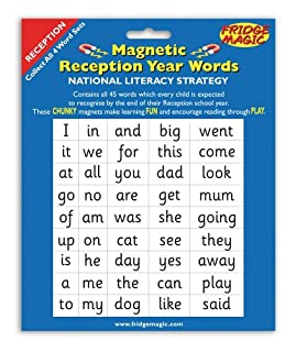 National Literacy Strategy Magnetic Words for Reception Year Key Stage 1 (B000CDL85G) | Amazon price tracker / tracking, Amazon price history charts, Amazon price watches, Amazon price drop alerts