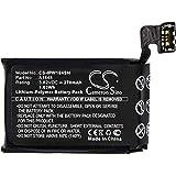 CameronSino Battery for Apple MQJU2LL/A MQKW2LL/A, MQKV2LL/A, MR2W2LL/A, GSRF-MQJQ2LL/A, A1848, fits A1860,Watch Series 3 LTE 38mm,Watch Series 3 4G 38mm,A1858Li-Polymer 3.82V 270mAh / 1.03Wh