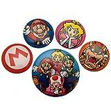 Nintendo Abzeichen, plastik, Mehrfarbig, 10 x 12.5 cm -