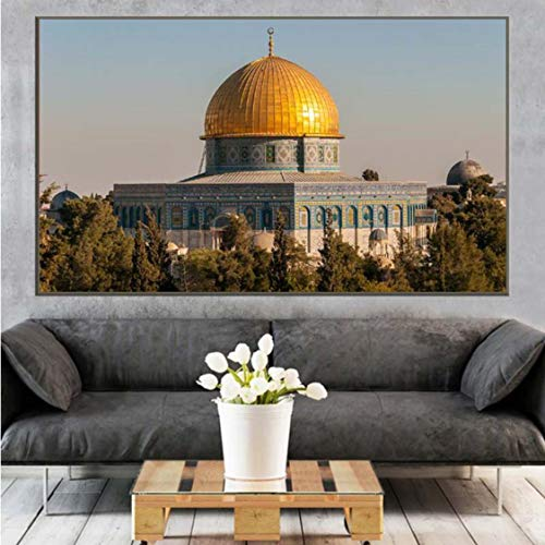 Danjiao Dome Of The Rock Wandkunst Gemälde Druck Auf Leinwand Kunst Poster Und Pirnts Ic Kunstbilder Kunstdrucke Home Decor Wohnzimmer 60x90cm