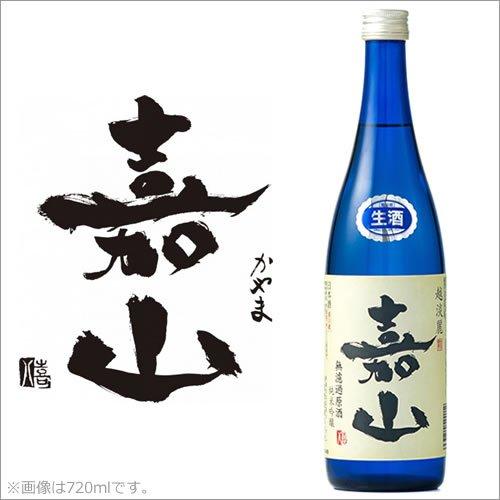 DHC酒造『嘉山純米吟醸無濾過生原酒』