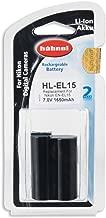 Hahnel HL-EL15 Nikon Type Li-ion Battery Replacement for EN-EL15