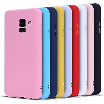 Anfire-ES 9X Funda para Samsung Galaxy J6 2018, Silicona Case ...