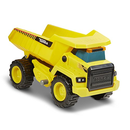 Tonka 8045 Power Movers Dump Truck Toy Vehicle, Yellow