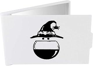 'Witch's Hat & Cauldron' Compact / Travel / Pocket Makeup Mirror (CM00024256)
