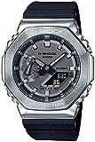 カシオ 腕時計 ジーショック メタルカバード GM-2100-1AJF メンズ ブラック