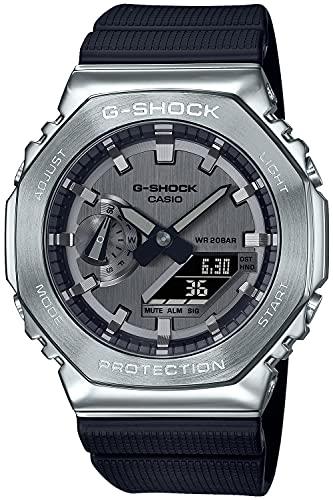 [カシオ] 腕時計 ジーショック メタルカバード GM-2100-1AJF メンズ ブラック