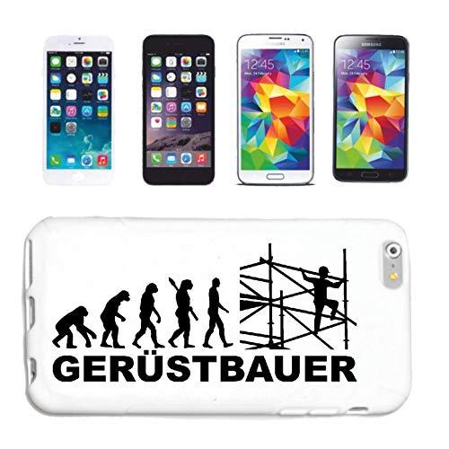 Hoes voor mobiele telefoon compatibel met Samsung Galaxy S8+ steigerbouw, steiger, valbeveiliging, hardcase beschermhoes, hand