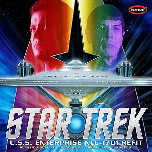 Price comparison product image Polar Lights Star Trek USS Enterprise Refit