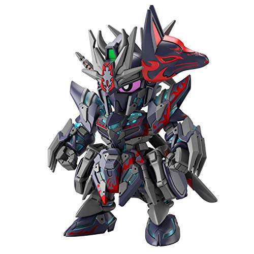 SDW HEROES Sasuke Delta Gundam Color Coded Plastic Model