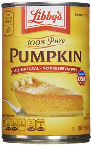 Libby's 100% Pure Pumpkin