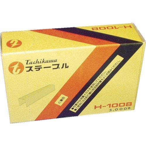 立川ピン製作所 タチカワ ステープル H-1008 1箱 3000本 253-5548