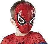 Rubie's Spiderman-Halbmaske für Kinderkostüm, offiziell lizensiert, Einheitsgröße