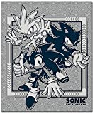 Great Eastern Entertainment Sonic The Hedgehog - Group Throw Blanket