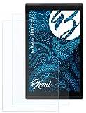 Bruni Schutzfolie kompatibel mit Medion LIFETAB S10351 Folie, glasklare Bildschirmschutzfolie (2X)