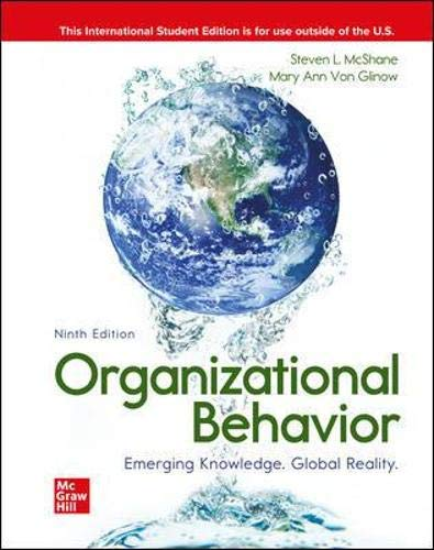 ISE Organizational Behavior