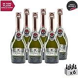 Méthode Traditionnelle Cuvée Fondateur 1927 Rosé Rosé - Maison Perret - Appellation VDF Vin Mousseux - Origine Savoie - Vin effervescent Rosé de Savoie - Bugey - Lot de 6x75cl