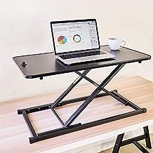 Standing Desk Computer Workstation Stand Up Desks Height Adjustable Sit Stand Converter Laptop Stands Dual Monitor PC Desk...