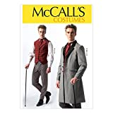 McCall's Costumes Men's Historical Suit Costume Sewing Pattern, Size S-M-L-XL-XXL