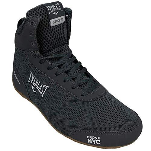Everlast Forceknit - Zapatillas de boxeo unisex para adultos, color Negro, talla 42 EU