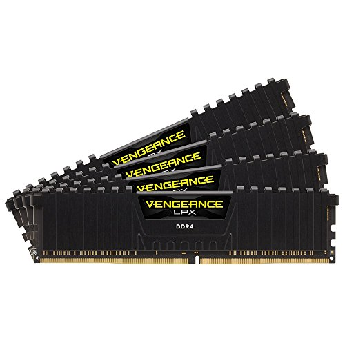 Corsair Vengeance LPX 32GB (4 x 8GB) DDR4 DRAM 2400MHz (PC4-19200) C14 memory kit for DDR4 Systems