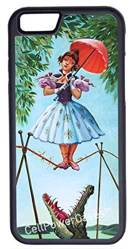 CellWorld LLC – neues Apple iPhone 6 Plus/6S Plus (5,5 Zoll) inkl. 2 Displayschutzfolien, Schutzhülle von Haunted Mansion BlackShips von Florida
