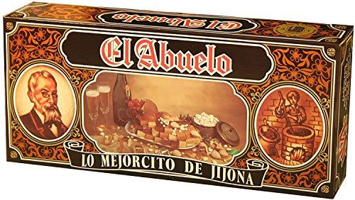 Lote de Turrones artesanos en Estuche Dorado litografiado (nº 5), El Abuelo....