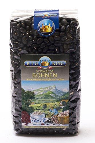 BioKing 4x 500g Bio BOHNEN schwarz (EUR 2,39 / Pkg.)
