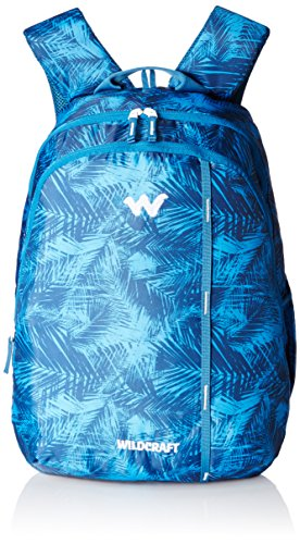Wildcraft 28 Ltrs Blue Backpack (Comfortable & Trendy Looks Bag For Students & Daily Travelers)
