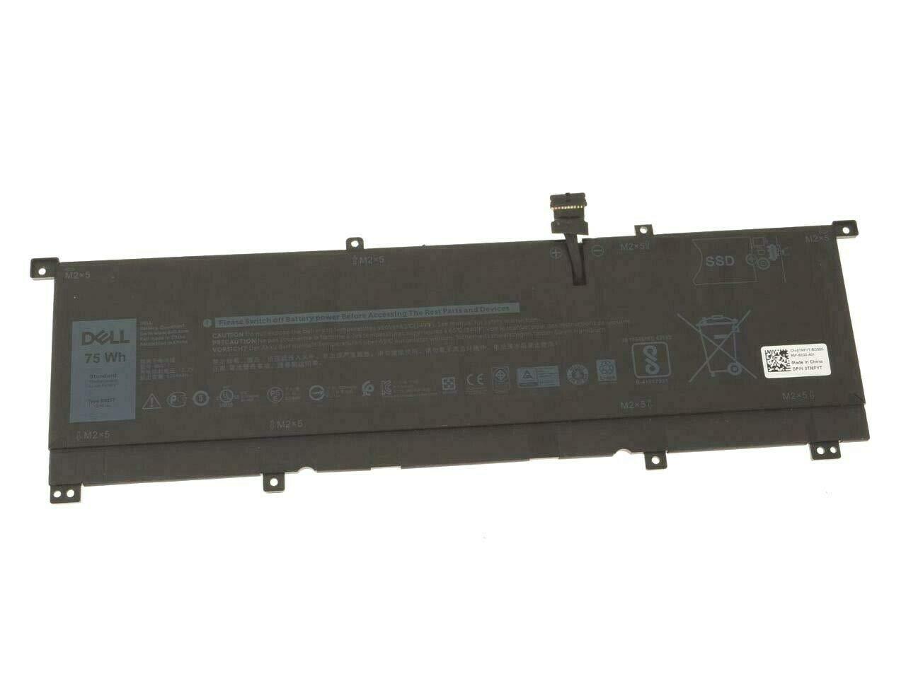 Genuine Battery 11 4V 8N0T7 0TMFYT