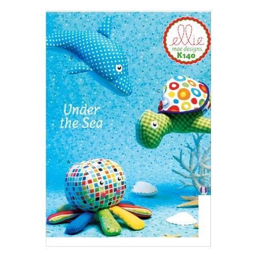 KWIK SEW k0140 Ellie Mae Designs « sous la mer » Jouets Patron de Couture, Multicolore