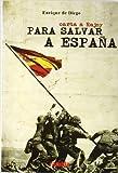 Carta a rajoy para salvar a España